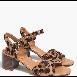JCrew Heel Sandals